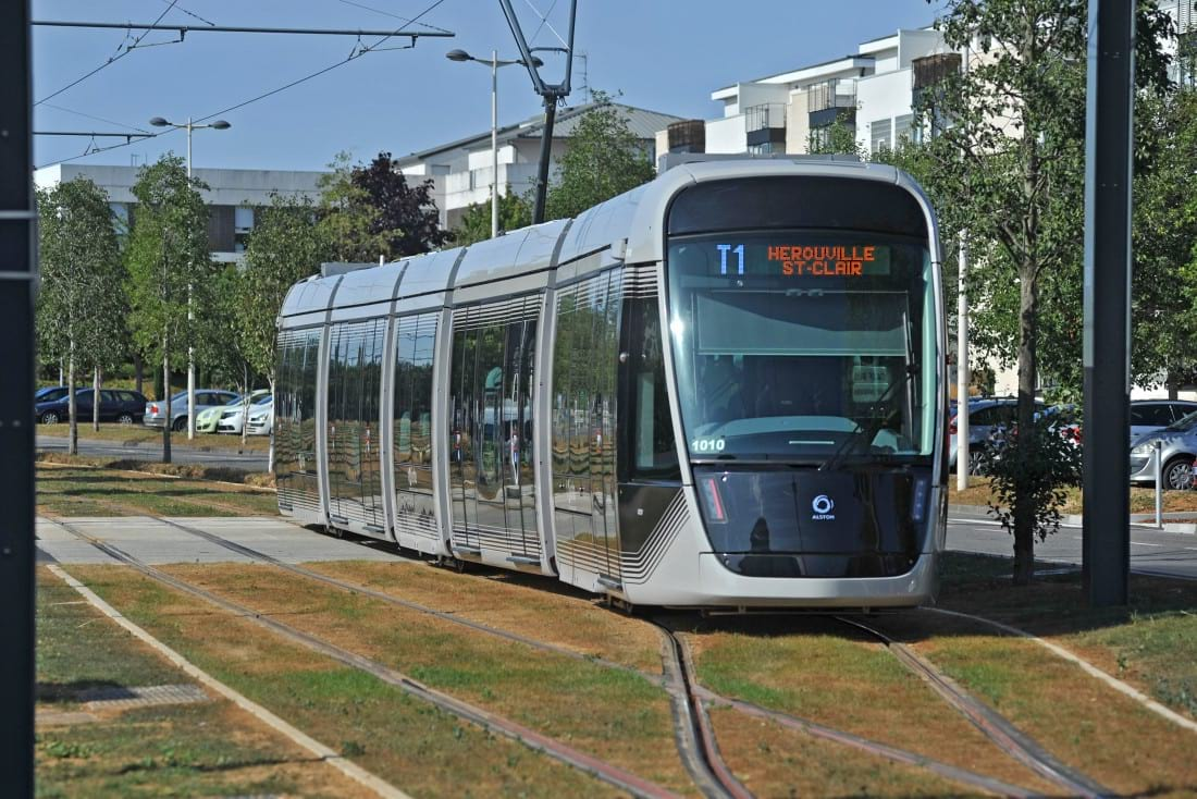 Inauguration Tramway animations
